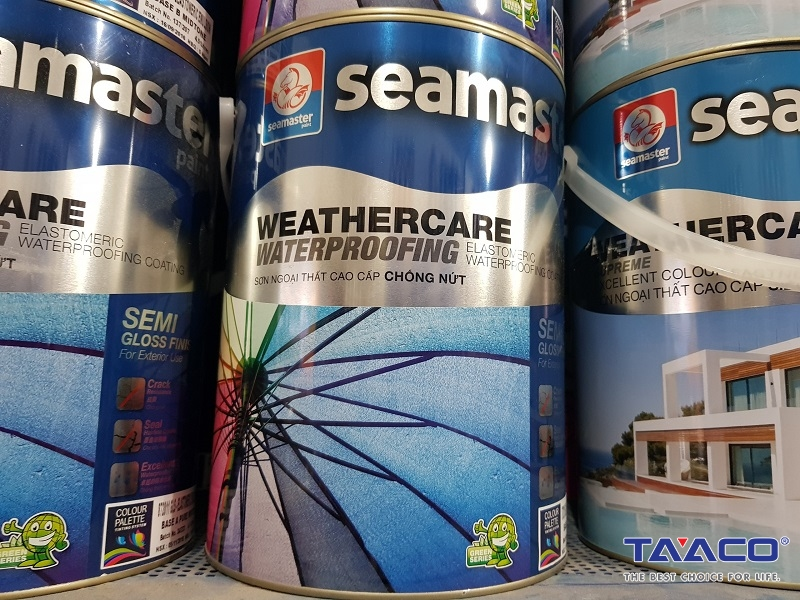 Sơn Ngoại Thất Semaster Chống Nứt Weathercare Weaterproofing